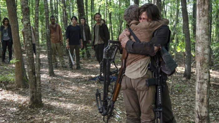 from Lee walking dead carol and daryl hook up