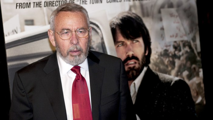 "Tony Mendez, the retired CIA agent who was played by Ben Affleck in the movie ""Argo,'' has revealed that he is suffering from Parkinson's disease in order to help seek more alternative treatments for the disease."