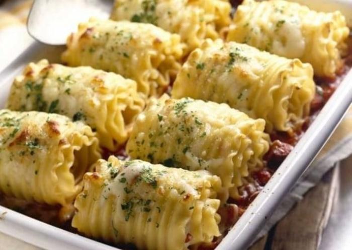 Recipes for chicken lasagna roll ups