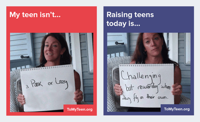 In #ToMyTeen campaign, parents blast stereotypes - TODAY.com