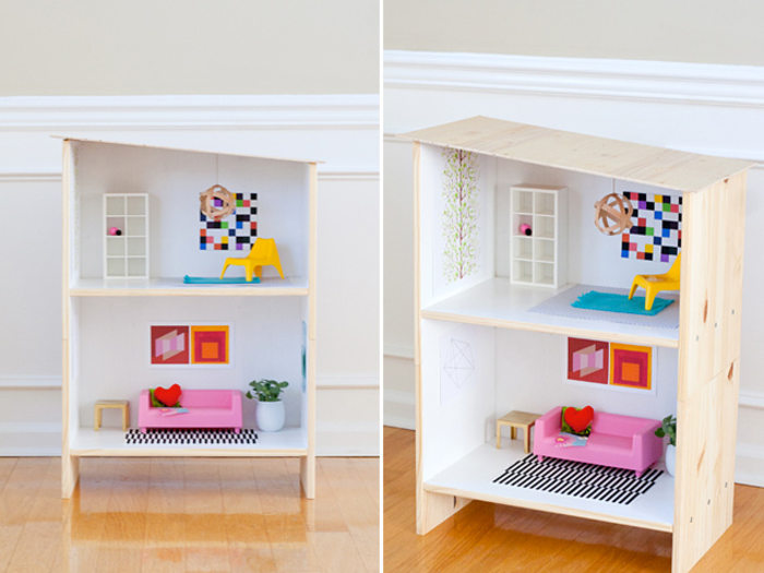 DIY holiday gifts IKEA dollhouse hack TODAYcom