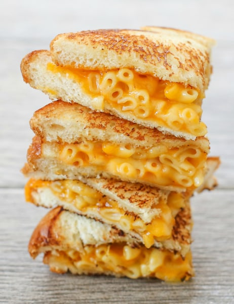 Grilled macaroni and cheese sandwich : You like macaroni and cheese ...