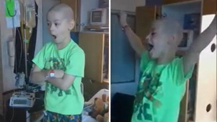 Cancer patient reaction
