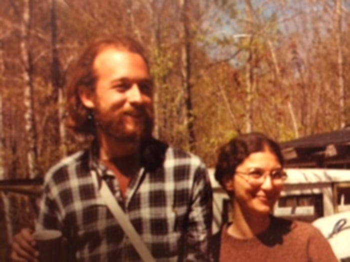 "Erika Spencer considers her grandparents, Steve and Leslie Kaiser  (here circa 1977) as ""original hipsters."""