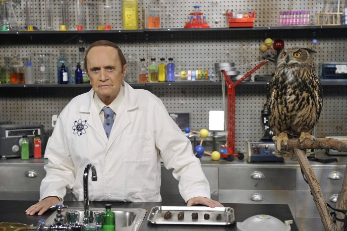 "Image: Bob Newhart as Professor Proton on ""The Big Bang Theory."""