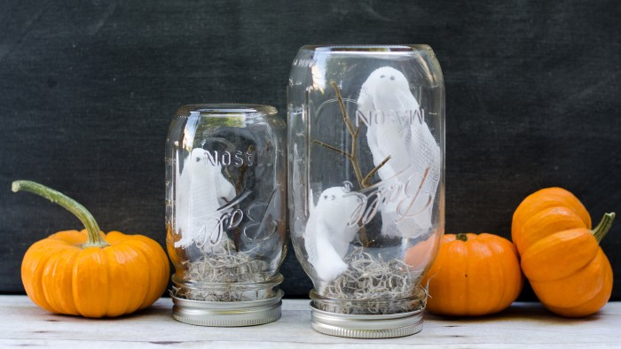 Halloween DIY Mason Jar