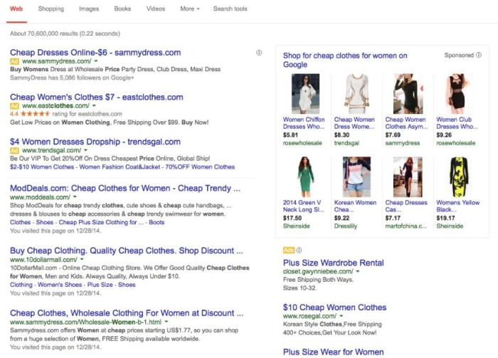 Clothes stores What are some good cheap online clothing stores