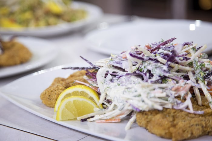 how to make chicken schnitzel without egg
