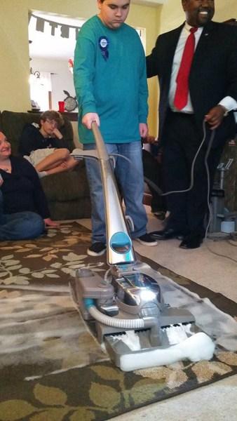 Vacuum Loving Boy With Autism Gets Best Birthday Surprise