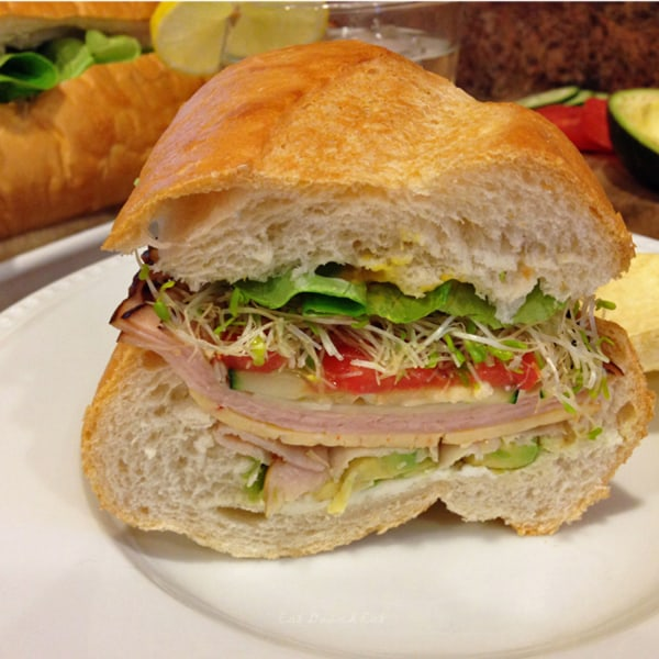 Sort Of A Hero Sandwich Recipes — Dishmaps
