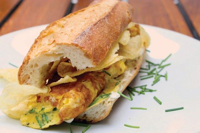 French Potato Cake Lettuce