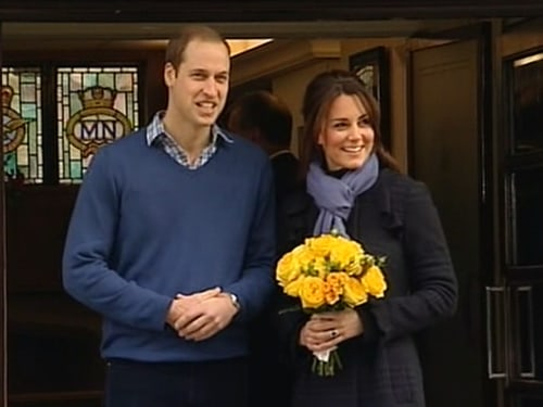 Image: Prince William and the Duchess of Cambridge