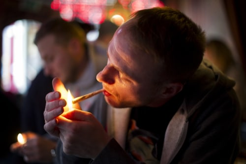 Image: Marijuana tourism