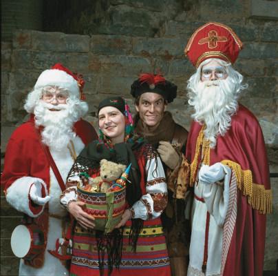 Image: Santa and friends