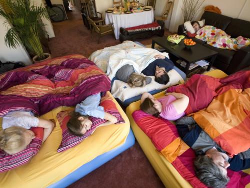 Image: Holiday sleepover