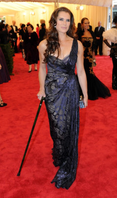 Image Result For Why Is Brooke Shields On A Cane