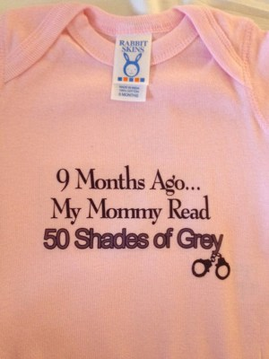 Image: 'Fifty Shades of Grey' baby clothing