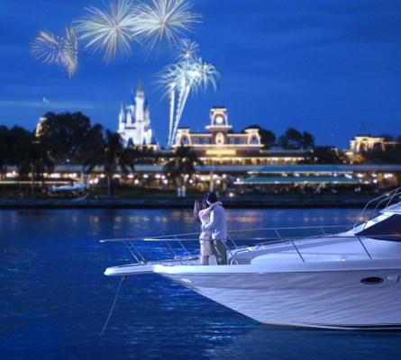 Yacht Excursion at Walt Disney World, Magic Kingdom
