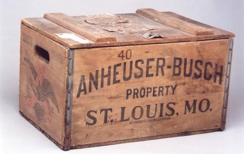 Anheuser-Busch Beer Case, 1933