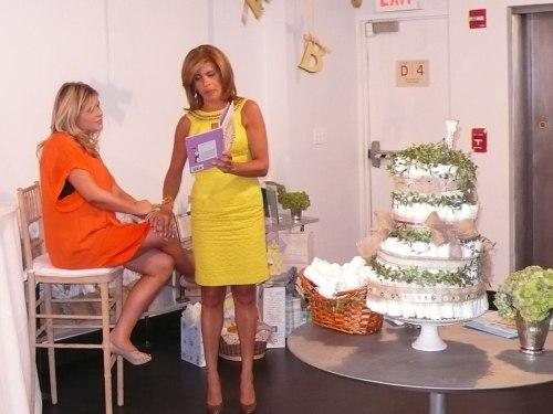 Hoda Kotb and Jenna Bush Hager at Jenna's baby shower.