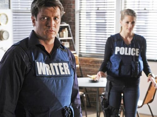 "Nathan Fillion and Stana Katic in ""Castle's"" ""Still"" episode."