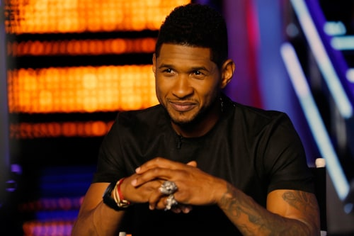 Usher's supposed dramatic steal was really pretty dull.