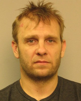 Robert Todd Harrell in his Nashville Police Department mugshot.