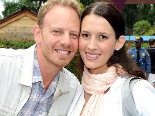 Ian Ziering and Erin Ludwig.