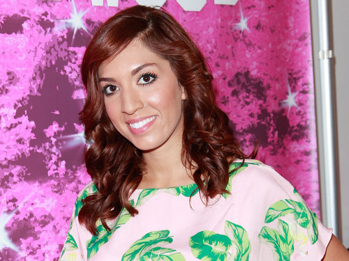 """""""Teen Mom star Farrah Abraham attends the Colgate Optic White Beauty Bar at 901 Salon With Skinmate, Fake Bake and Cetop..."""