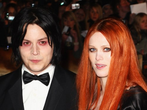 Jack White and Karen Elson in 2008.