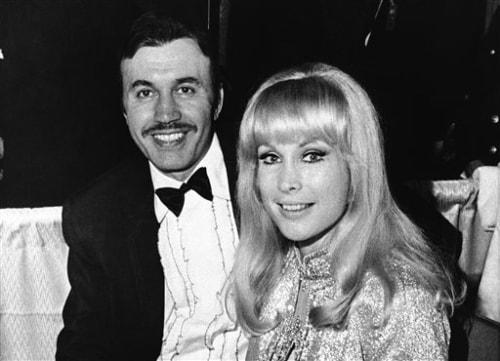 Michael Ansara and Barbara Eden in 1969.