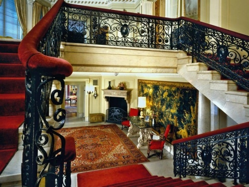 . Built in 1901 on iconic Dupont Circle, the home was built for Robert and Elinor Medill Patterson, owners of the Chicago Tribune.