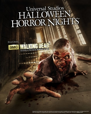 Beginning September 20, AMCÕs ÒThe Walking DeadÓ will come to life at Universal Studios Hollywood and Universal Orlando ResortÕs Halloween Horror Nigh...