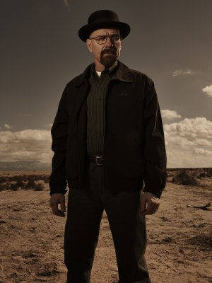 Bryan Cranston has won three Emmys for his portrayal of the evil scientist Walter White.