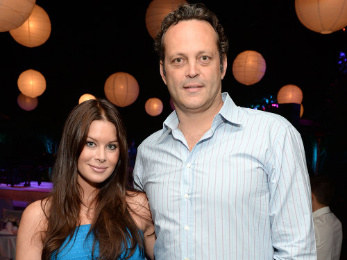 Image: Vince Vaughn and wife Kyla Weber