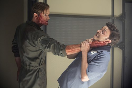 "Image: Alexander Skarsgard and Michael McMillian in ""True Blood."""