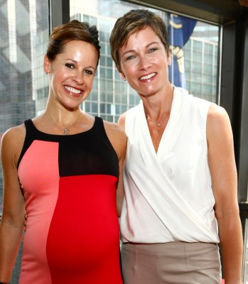 """Jenna Wolfe has called her partner Stephanie Gosk her """"next extreme adventure."""""""