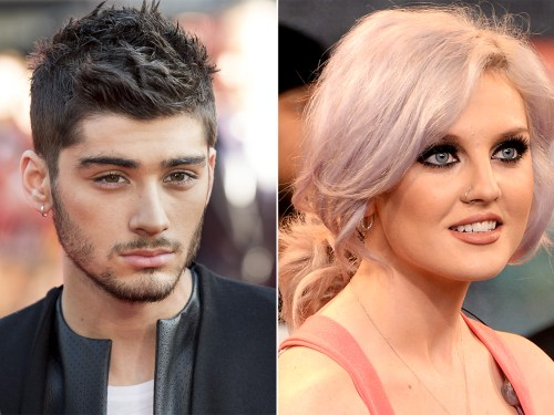 Zayn Malik and Perrie Edwards.