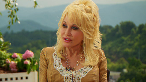 "At 67, Parton told Geist ""I feel like I'm just startin'."""