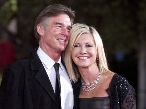 Image: Olivia Newton-John and her husband John Easterling