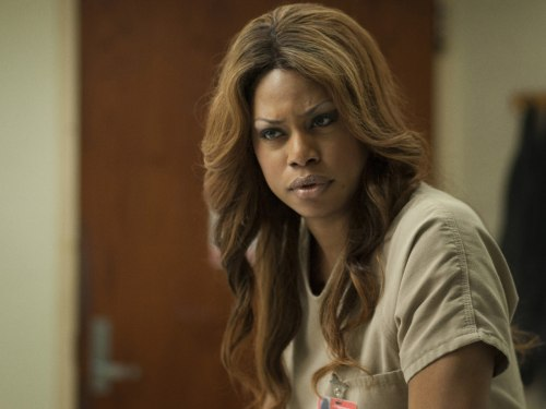 "IMAGE: Laverne Cox on ""Orange is the New Black"""