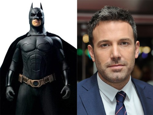 Batman and Ben Affleck.