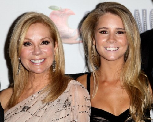 Kathie Lee and Cassidy Gifford