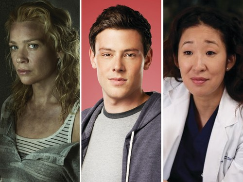 Image: Walking Dead, Glee, Grey's Anatomy