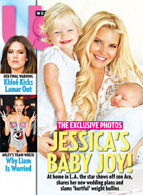IMage: Jessica Simpson and kids