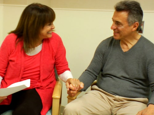 Valerie Harper and her husband Tony Cacciotti are a close, loving team in the face of her illness.