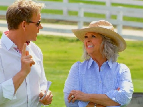 Image: Gordon Ramsay and Paula Deen.