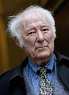 Seamus Heaney , writer, attends the Sunday Times Oxford Literary Festival in Christ Church on March 22, 2013 in Oxford, England.