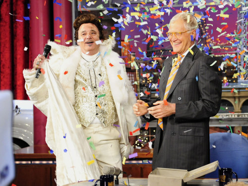 Image: Bill Murray, David Letterman