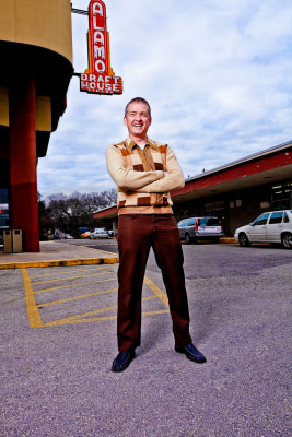 IMAGE: Tim League, CEO of Alamo Drafthouse